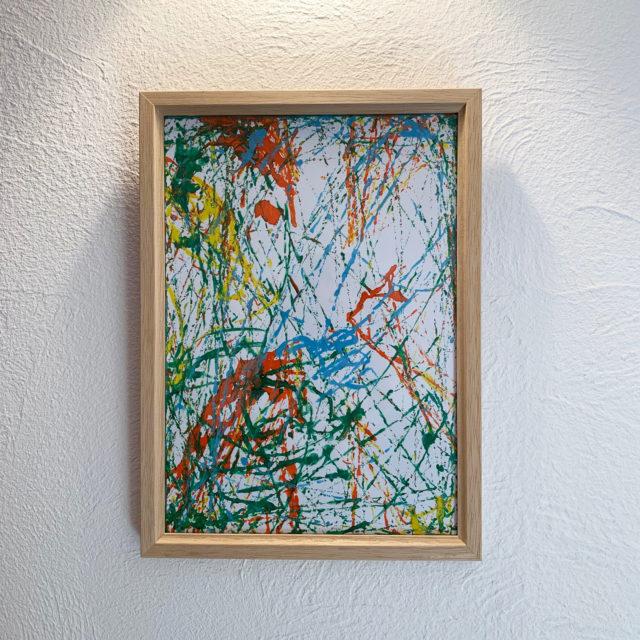 我が家のアートギャラリー